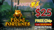 Planet 7 OZ Casino $25 FREE Chip New RTG Game Frog Fortunes No Deposit Special Deal