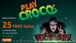 PlayCroco Special 25 FREE Spins on RTG Witch's Brew All Players No Deposit Offer