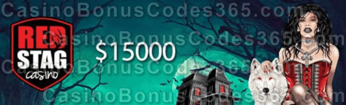Red Stag Casino $15000 Nightmare on Slot Street Tournament WGS Black Magic Monster Money