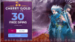 Cherry Gold Casino 30 FREE Spins on Storm Lords No Deposit Welcome Deal