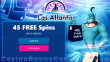 Las Atlantis Casino 45 FREE RTG 5 Wishes Spins Black Friday Mega No Deposit Sale