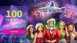 Las Atlantis Casino 100 FREE Spins on RTG Epic Holiday Party Special Deposit Offer