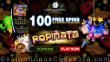 Platinum Reels 50 FREE RTG Popiñata Spins No Deposit Welcome Offer
