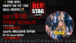 Red Stag Casino $10 FREE Chip plus 500% Match Bonus Super New Year 2021 Deal