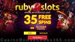 RubySlots 35 FREE RTG Diamond Fiesta Spins No Deposit Special Deal