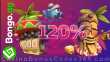 Bongo.gg 120% Match Bonus plus 80 FREE Spins on top Welcome Package
