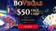 BoVegas Casino $50 FREE Chips No Deposit Bonus RTG