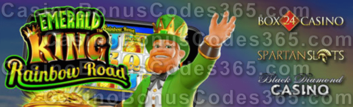 Black Diamond Casino Box 24 Casino Spartan Slots New Pragmatic Play Game Emerald King Rainbow Road LIVE