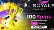 El Royale Casino 100 FREE Spins on RTG Football Fortunes Special Deposit Bonus