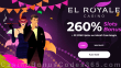 El Royale Casino 260% Match Bonus plus 35 FREE Spins on RTG Mardi Gras Magic Special New Players Deal