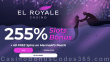 El Royale Casino 255% Match Bonus plus 40 FREE Spins on RTG Mermaid's Pearls St. Valentine's Day Special Deal