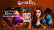 GunsBet 50 FREE Queen of Spades Spins Mascot Gaming New Game Providers Special Deal