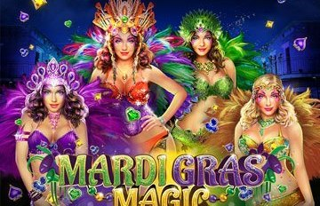 Intertops Casino Red 125% Bonus plus 50 FREE Spins on Mardi Gras Magic New RTG Game Special Deal