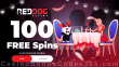 Red Dog Casino 100 FREE Spins on RTG Enchanted Garden Special St. Valentine's Day Deposit Deal