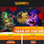 Slotastic Online Casino Year of the Ox Celebration Special Offer RTG Plentiful Treasure