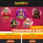Slotastic Online Casino Happy St. Valentine's Day RTG Swet 16