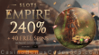 Slots Empire 240% Match Bonus plus 40 FREE Spins on Paddy's Lucky Forest Special New RTG Game Welcome Pack