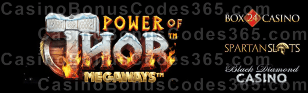 Box 24 Black Diamond Spartan Slots Power of Thor Megaways New Pragmatic Play Game is LIVE