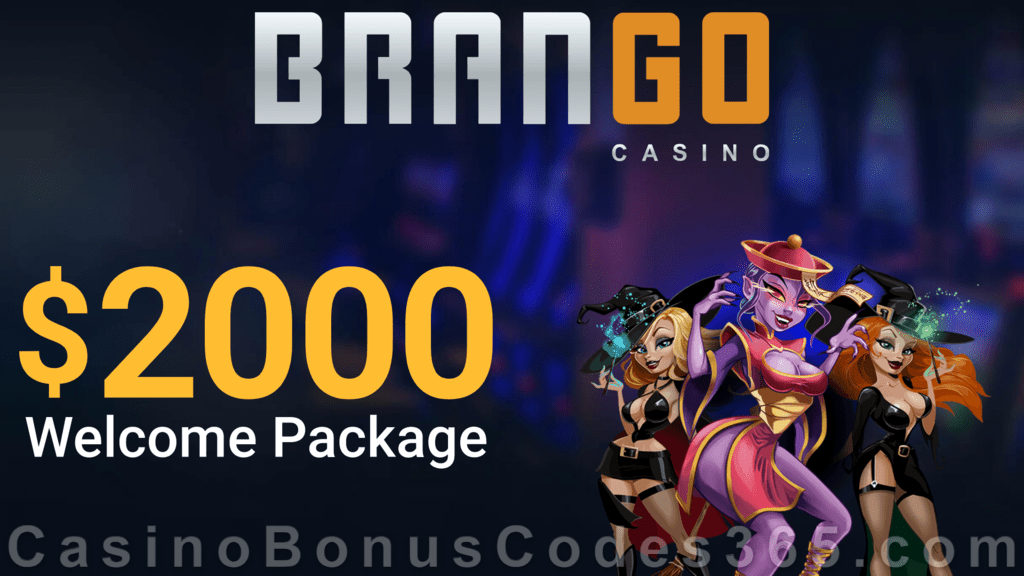 Casino Brango $2000 plus $30 FREE Chip Welcome Bonus
