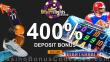 Desert Nights Casino Quarterback Saucify Game LIVE Special 400% Match Welcome Bonus