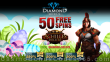 Diamond Reels Casino 50 FREE Spins on RTG Achilles Deluxe Exclusive No Deposit Welcome Deal