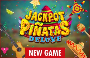 Intertops Casino Red 125% Bonus plus 50 FREE Spins on Jackpot Piñatas Deluxe New RTG Game Special Deal