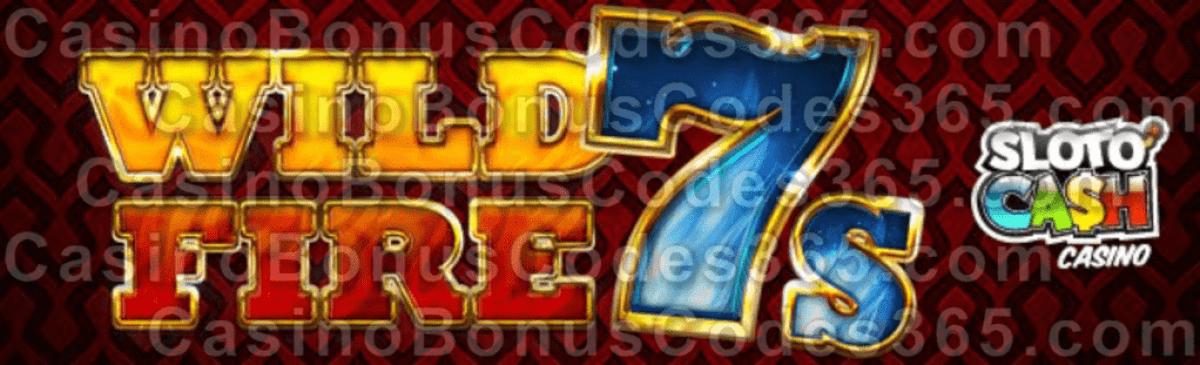SlotoCash Casino Wild Fire 7s New RTG Game Coming Soon