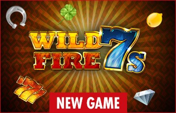 Intertops Casino Red 125% Bonus plus 50 FREE Spins on Wild Fire 7s New RTG Game Special Deal