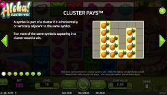 How To Play Aloha Cluster Pays