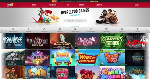 Spinit Online Casino Games
