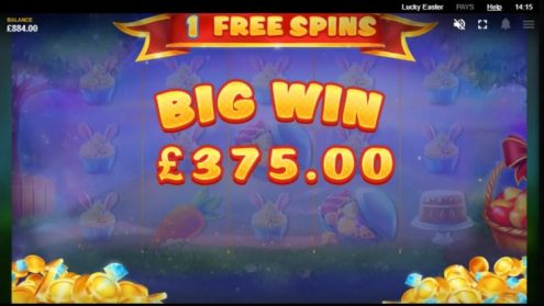 Lucky Easter Big Win
