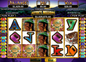 Aztec's Million Free Spins Triggered