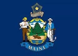 Maine State Flag - Casino Genie