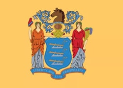 New Jersey State Flag - Casino Genie