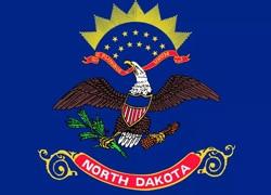 North Dakota State Flag - Casino Genie