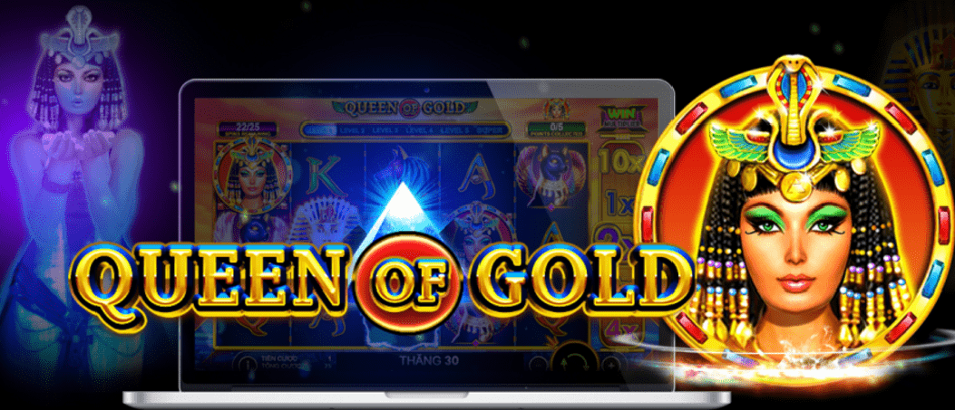 A new Giveaway on a New Slot: Queen of Gold (Pragmatic Play)