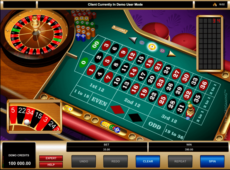 American Roulette Game Play Free Microgaming Roulette ...