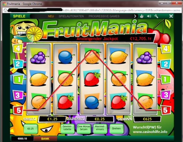Playtech FruitMania Jackpot