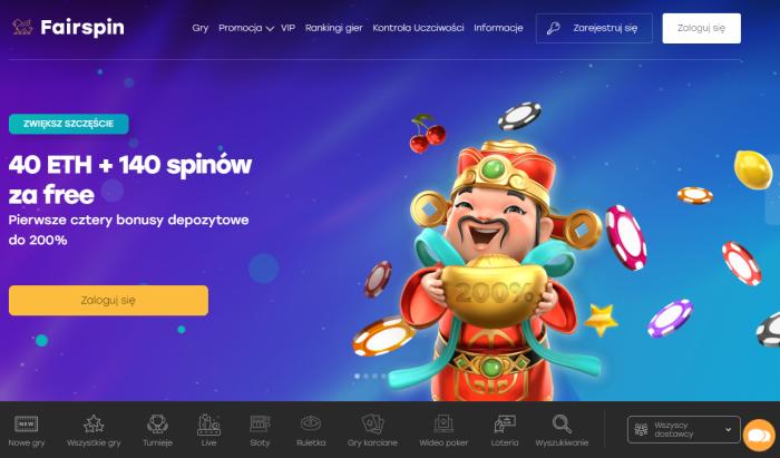 Najlepsze strony hazardowe online pa