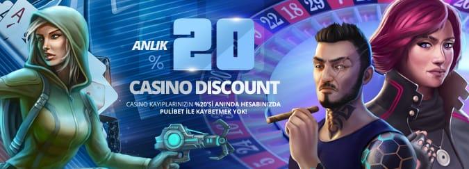 Pulibet Casino Bonusları