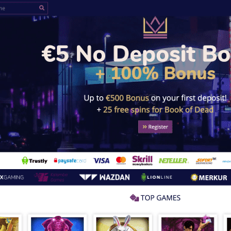 Lord Lucky Casino - homepage