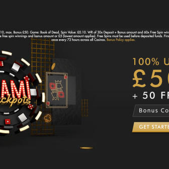 Miami Jackpots Casino - Homepage