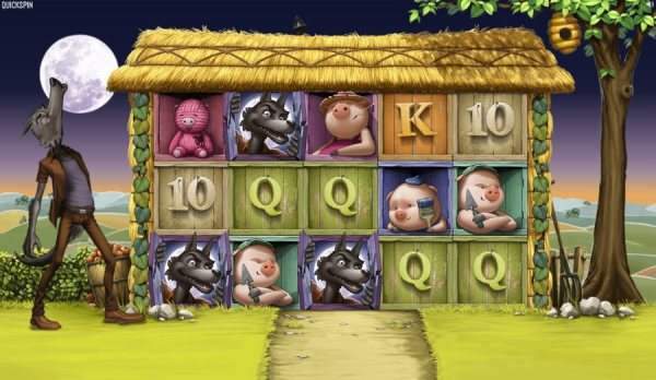 Big Bad Wolf slot - Quickspin