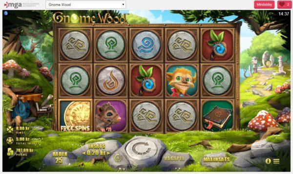 Gnnome Wood är ett trevligt spel med många vinster