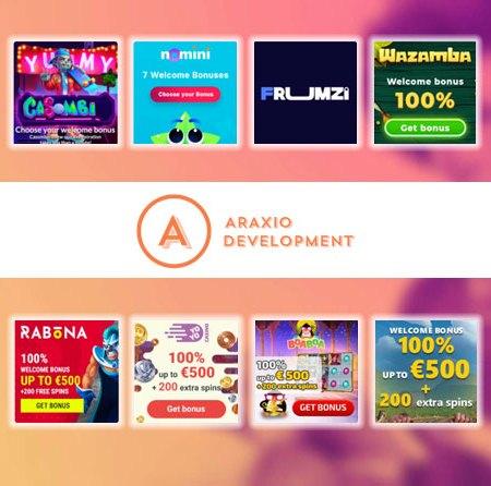 Best Araxio Development N.V. Casinos in 2021