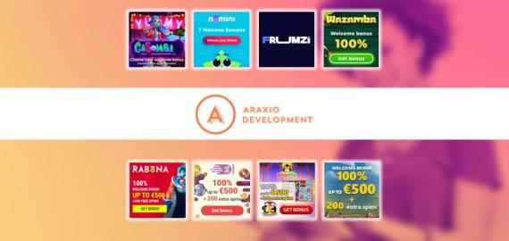 Araxio Development N.V. Casinos