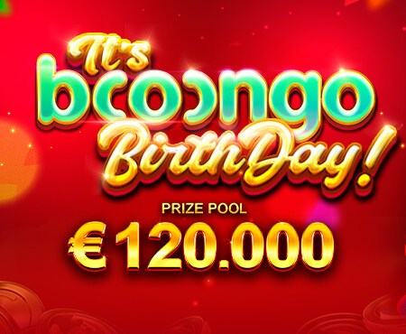 IT'S BOOONGO'S BIRTHDAY – €120,000 prize fund at BetWinner!