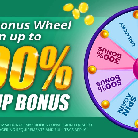 AN OFFER NOT TO BE MISSED – Takeaway Slots' New Match Up Bonus Wheel!