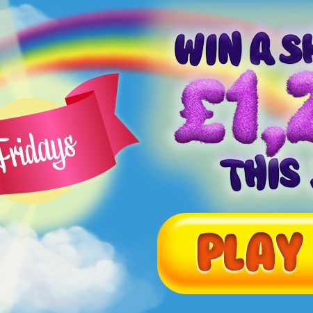 FLUFFY FRIDAYS – Win a share of £1,250 by playing Fluffy Favourites!