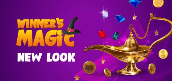 New magical look of Winner's Magic